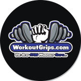 Dark Blue Workout Grips